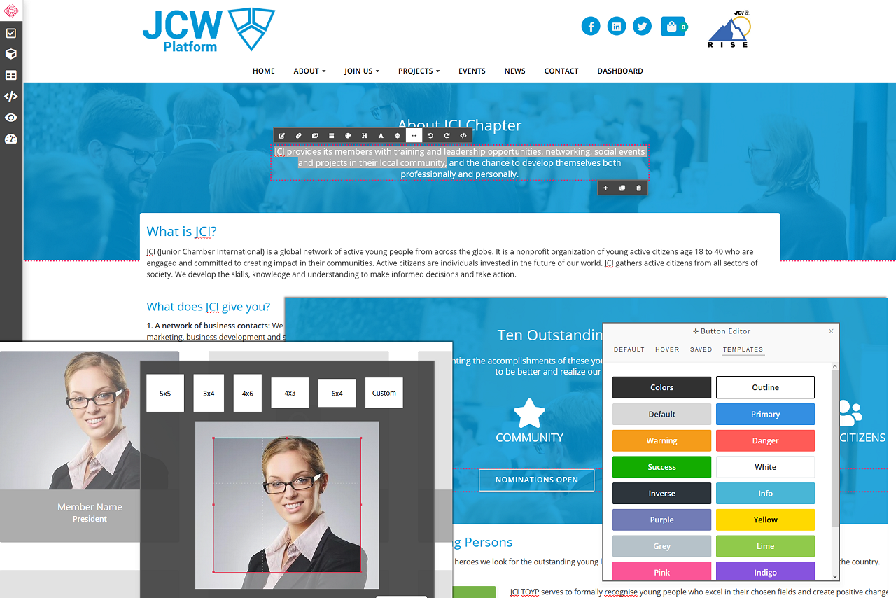 JCW Platform Features
